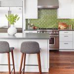 Designer Trend: Green Kitchens
