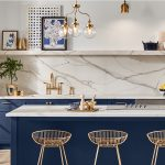 Cutting-Edge Kitchen Concepts in Sherwin-Williams' Naval