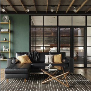 Inmod sustainable sectional