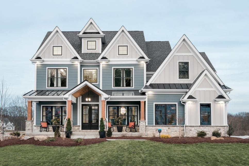 Exterior Photo of the HGTV Smart Home