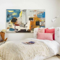 Trendy Dorm Room from Mr. Call Designs