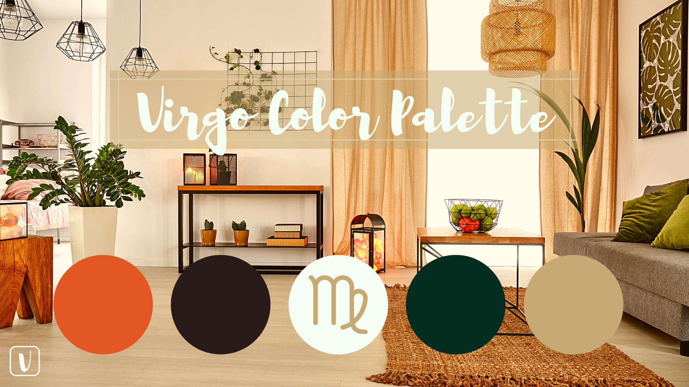 Home with Color Palette