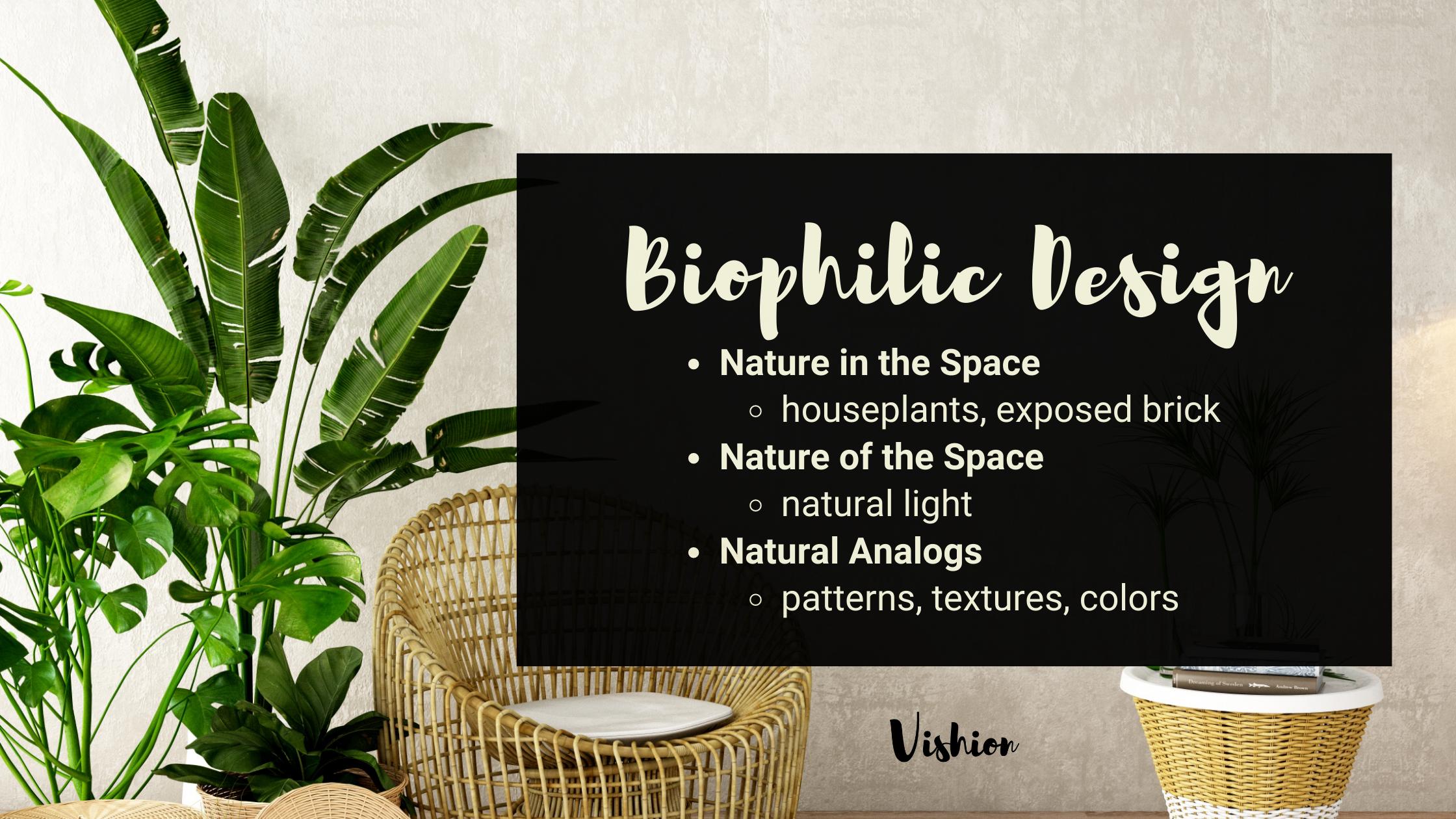 Biophilic Design graphic