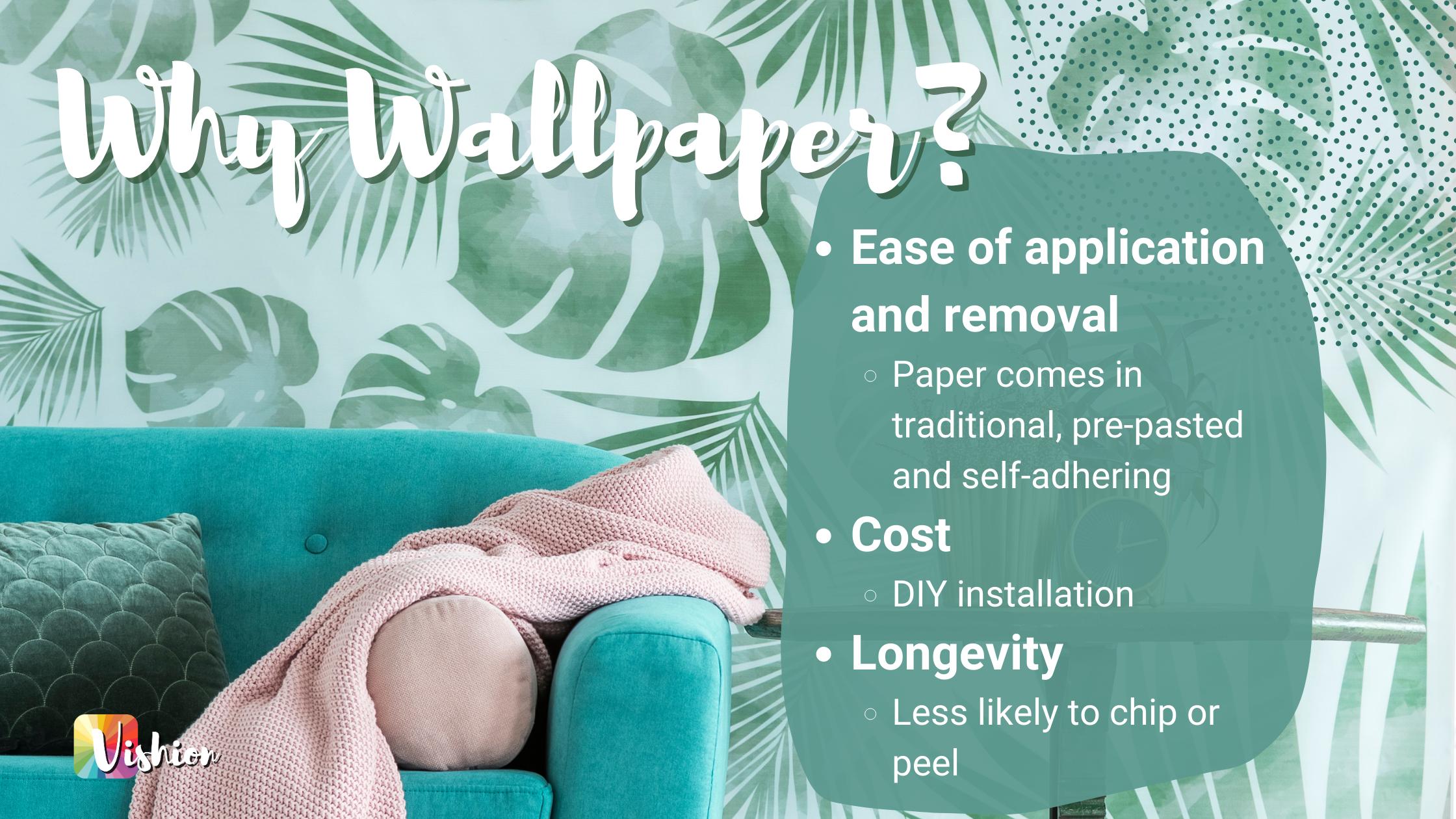 Vishion Why Wallpaper