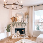 Fall Mantel Decor   Home is Where Your Hearth Is