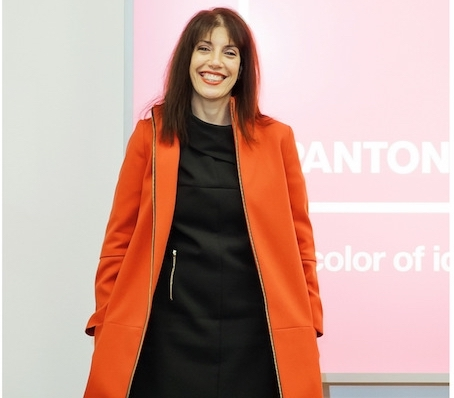 Laurie Pressman,Vice president of the Pantone Color Institute