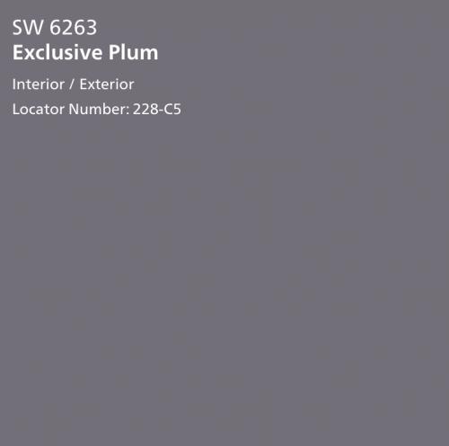 Exclusive Plum SW 6263