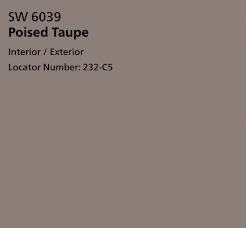 Poised Taupe SW 6039
